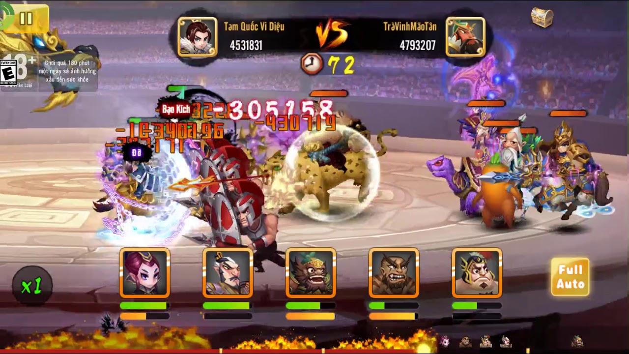 Hình ảnh các nhân vật trong game