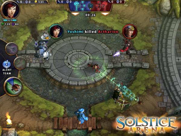 Socstice Arena – MOBA mobile mới ra mắt của Zynga