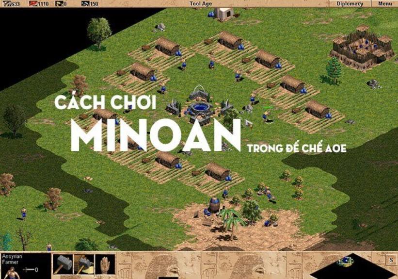 Minoan đánh quân gì
